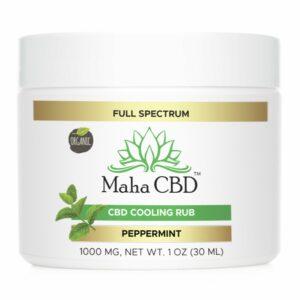 CBD Soothing Peppermint Rub - MahaCbd