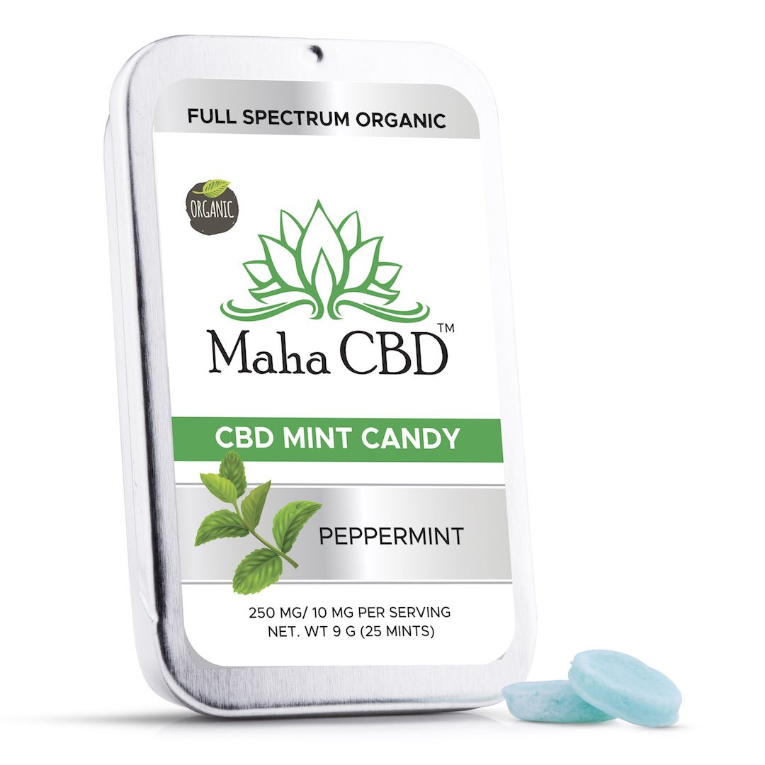 CBD Spearmint Mints - MahaCbd